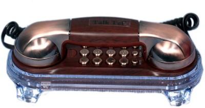 Shopo Ringer LED indication KX-T777 Telephone Corded Landline Phone (Copper)