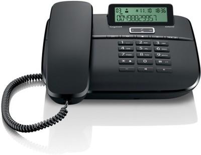 Gigaset DA610 Corded Landline Phone (Black)