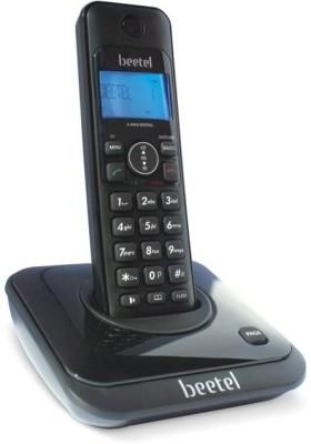 Beetel X63 Cordless Landline Phone (Black)