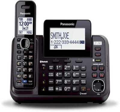 Panasonic PA-KX-TG9541 Cordless Landline Phone (Black)