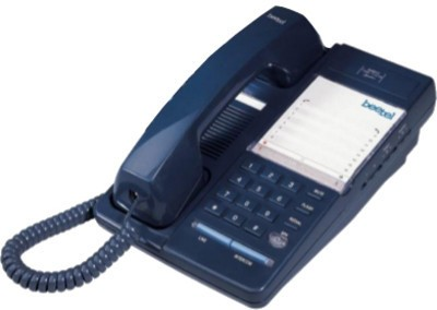 Beetel B11 Corded Landline Phone (Dark Blue)