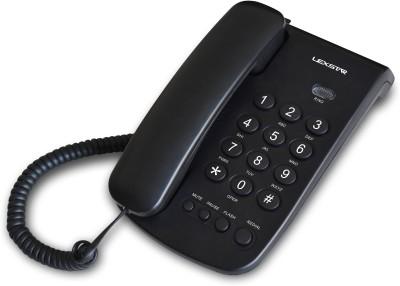 Lexstar LX100 Corded Landline Phone (Black)