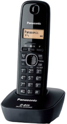 Panasonic Kxtg-3411bx Cordless Landline Phone (black)