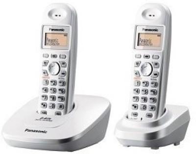 Panasonic KX-TG3612BX1 Cordless Landline Phone (Silver)