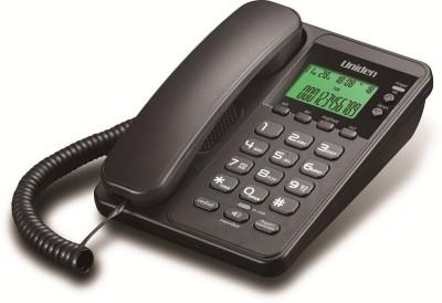 Uniden 6404 Corded Landline Phone (Black)
