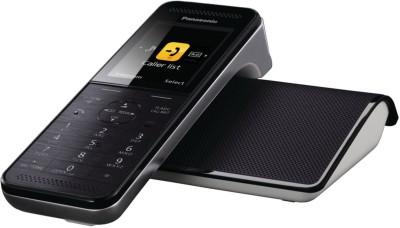 Panasonic KX-PRW120 Corded & Cordless Landline Phone (Black)