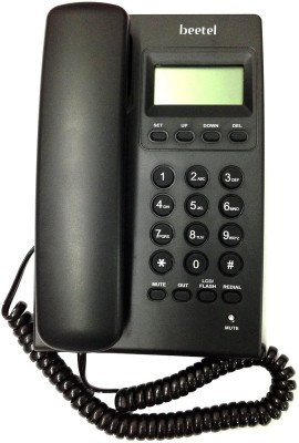 Beetel M17 Corded Landline Phone (Black)