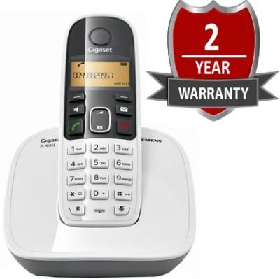 Buy Gigaset A490 Cordless Landline Phone: Landline Phone