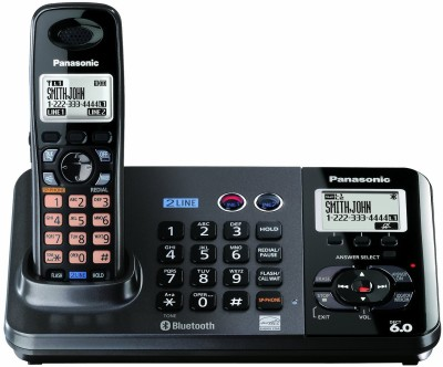 Panasonic KX-TG9385BX Cordless Landline Phone (Black)