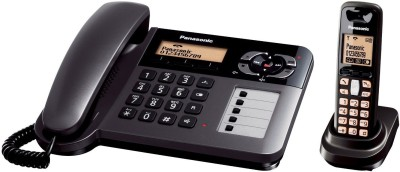 Panasonic PA-KX-TG3651 Cordless Landline Phone (Black)