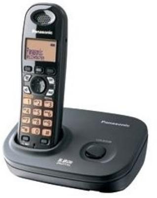 Panasonic KX-TG4311BX2 Cordless Landline Phone (Black)