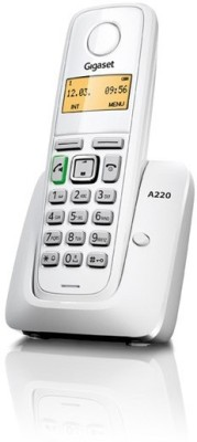 Gigaset A220 Cordless Landline Phone (White)