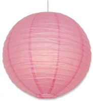 Skylift Paper Lantern Pink 12 Inches Pink Paper Lantern (32 Cm X 32 Cm, Pack Of 1)