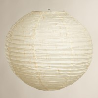 Urban Lifestyle Earthy Paper Lantern (White, Pack Of 1)