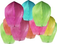 Everything Imported Glow Wish Lamp Paper Sky Lantern (Multicolor, Pack Of 10)