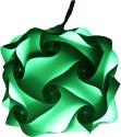 Somya Leger Polypropylene Lantern - Green, Pack Of 1