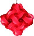 Somya Leger Polypropylene Lantern - Red, Pack Of 1 - LTNE2GZWFZABKHTQ