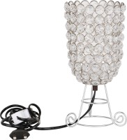 DP International Solid Grace White Crystal Lantern (22.35 Cm X 12.7 Cm, Pack Of 1)