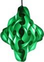 Somya Leger Polypropylene Lantern - Green, Pack Of 1 - LTNE2GZYXFJJJNKA