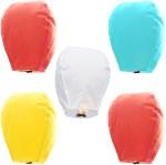 SS Decor SS Decor Multicolor Paper Sky Lantern