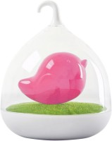 BonZeal Bird LED Sensor Night Lamp Pink, White Plastic Lantern (17.5 Cm X 14 Cm, Pack Of 1)