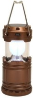 IMPORTED IMPORTED Brown Plastic Lantern (12 Cm X 7 Cm, Pack Of 1)