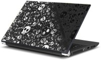 Namo Art 3d Artwork Skulls With Laptop Key Protector Combo Set (Multicolor)