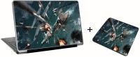 Aurra Kyle Katarn Laptop Skin And Mousepad Skin Combo Set Combo Set (Multicolor)
