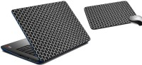 MeSleep Abstract Laptop Skin And Mouse Pad 342 Combo Set (Multicolor)