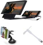 Bigkik 3d Phone Screen+ Mobile Holder+ Usb Fan