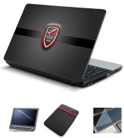 Psycho Art Asus Rog Badge Logo Republic Of Gamers Combo Set (Multicolor)