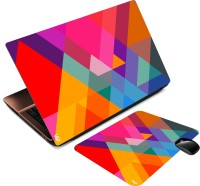 Print Shapes Colourfull Triangles Combo Set (Multicolor)