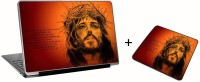 Aurra Jesus Christ Laptop Skin And Mousepad Skin Combo Set Combo Set (Multicolor)