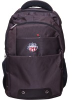 American Flyer GoGetter 17 Inch Laptop Backpack Brown4
