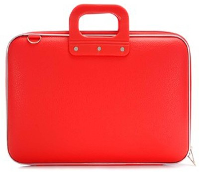 Tootpado Colorful Stylish Carrying Case 15 inch Laptop Bag Red available at Flipkart for Rs.999