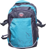 American Flyer RockOut 17 Inch Laptop Backpack Blue10