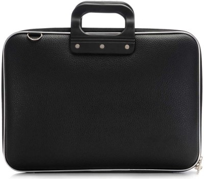 Tootpado Colorful Stylish Carrying Case 15 inch Laptop Bag Black available at Flipkart for Rs.999