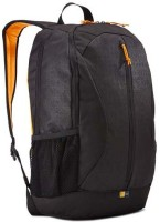Case Logic 15 Inch Laptop Backpack (Black, Yellow)