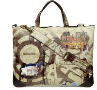 Gypsy Soul Designer 15 Inch Laptop Messenger Bag - Brown