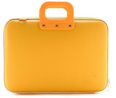 Tootpado Colorful Stylish Carrying Case 15 inch Laptop Bag Yellow available at Flipkart for Rs.999