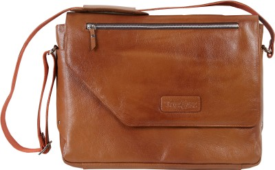 Tortoise 15 inch Laptop Bag Light Brown