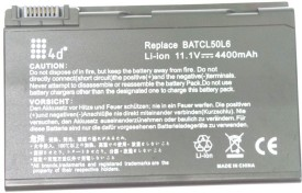 4D 4d Acer 50L6 Aspire BT00404001 6 Cell Laptop Battery