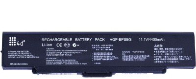 4D Sony Vaio VGN AR820E Laptop battery