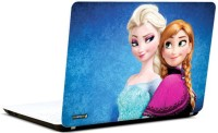 Pics And You Frozen Cartoon Themed 396 3M/Avery Vinyl Laptop Decal (Laptops And MacBooks)
