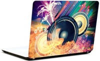 Pics And You Music Speakers Vinyl Laptop Decal (Laptops And Macbooks)