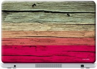 Macmerise Wood Stripes Fuschia - Skin For Dell Inspiron 15R-5520 Vinyl Laptop Decal (Dell Inspiron 15R-5520)