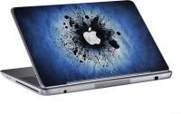 AV Styles Apple In Blue Background Skin Vinyl Laptop Decal (All Laptops)