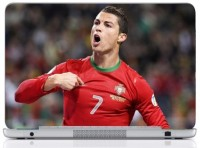 WebPlaza Cristiano Ronaldo Skin Vinyl Laptop Decal (All Laptops With Screen Size Upto 15.6 Inch)