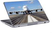 AV Styles Airplane On Runway Skin Vinyl Laptop Decal (All Laptops)