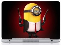 WebPlaza Minion Laptop Skin Vinyl Laptop Decal (All Laptops With Screen Size Upto 15.6 Inch)